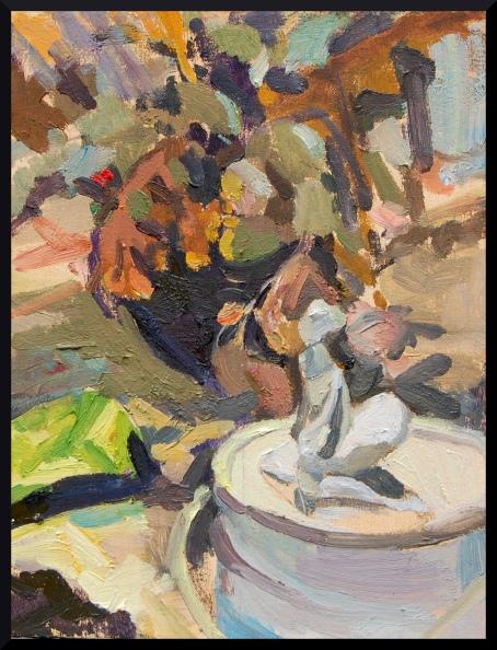 ALIRIZA-GULGUN- Quiescent-oil canvas-12 5 x 9 5 in